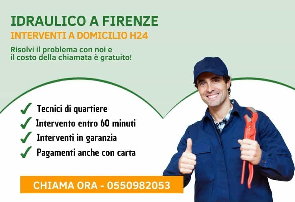 Idraulico Firenze - Pronto Intervento Idraulico h24